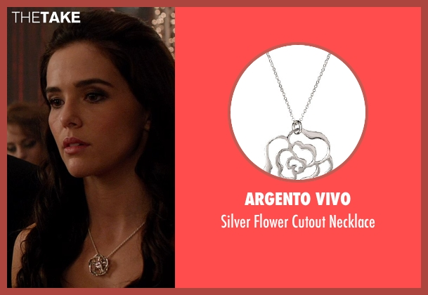 Argento Vivo necklace from Vampire Academy seen with Zoey Deutch (Rose Hathaway)