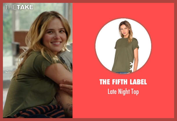 The Fifth Label green top from Why Him? seen with Zoey Deutch (Stephanie Fleming)
