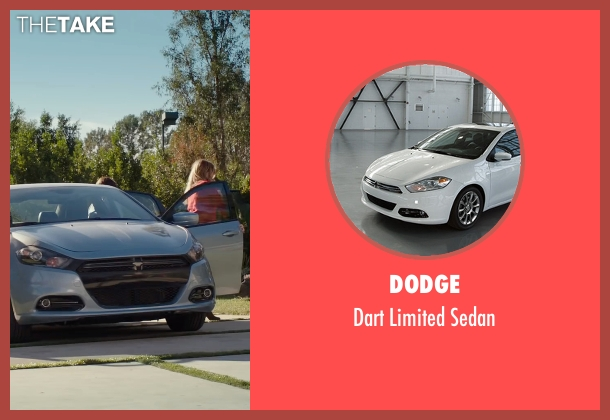 Dodge sedan from Why Him? seen with Zoey Deutch (Stephanie Fleming)