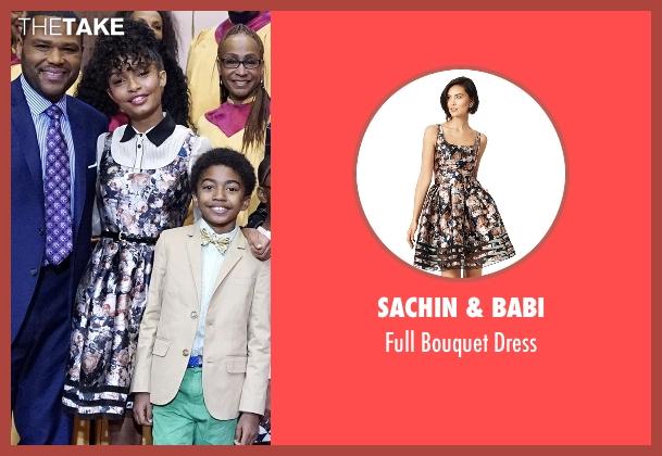 Sachin & Babi dress from Black-ish seen with Zoey Johnson (Yara Shahidi)