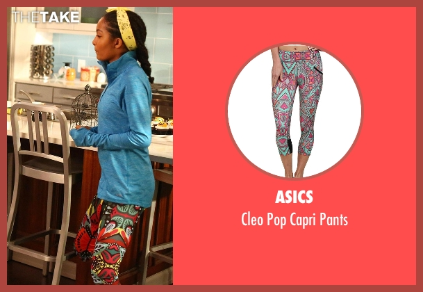 Asics pants from Black-ish seen with Zoey Johnson (Yara Shahidi)