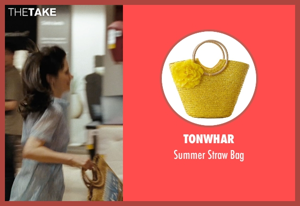 Tonwhar bag from (500) Days of Summer seen with Zooey Deschanel (Summer)