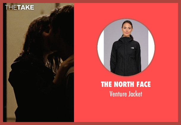 The North Face black jacket from (500) Days of Summer seen with Zooey Deschanel (Summer)