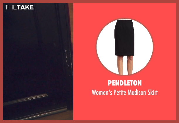 Pendleton black skirt from (500) Days of Summer seen with Zooey Deschanel (Summer)