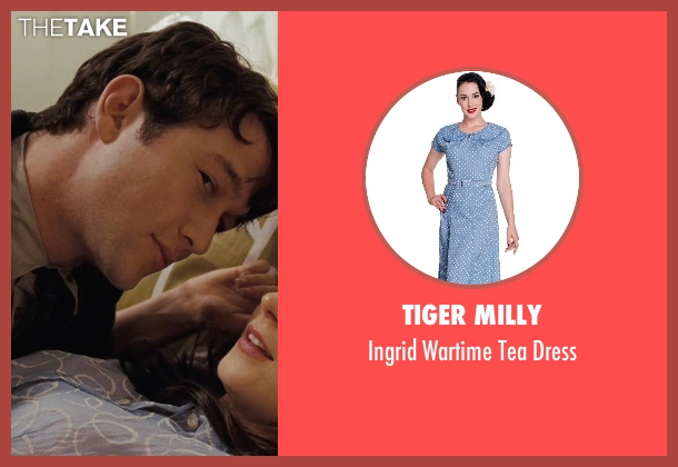 Tiger Milly blue dress from (500) Days of Summer seen with Zooey Deschanel (Summer)