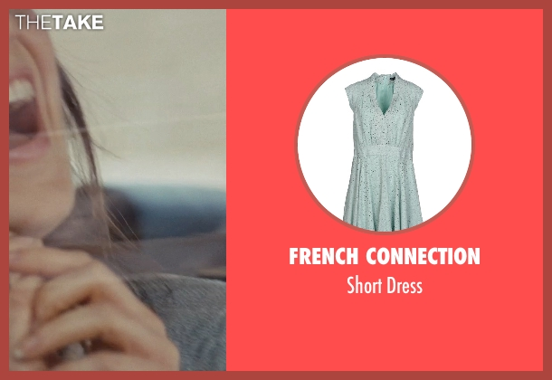 French Connection blue dress from (500) Days of Summer seen with Zooey Deschanel (Summer)