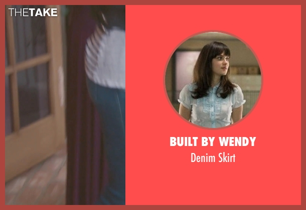 Built by Wendy blue skirt from (500) Days of Summer seen with Zooey Deschanel (Summer)