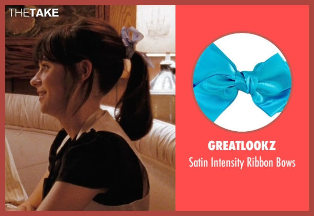 Greatlookz bows from (500) Days of Summer seen with Zooey Deschanel (Summer)