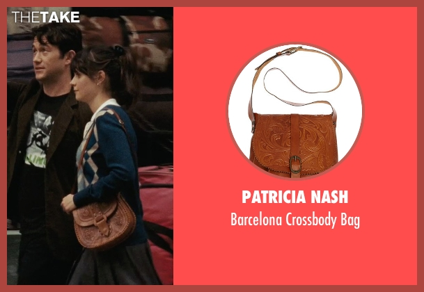 Patricia Nash brown bag from (500) Days of Summer seen with Zooey Deschanel (Summer)
