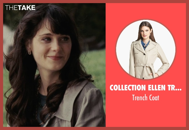 Collection Ellen Tracy coat from (500) Days of Summer seen with Zooey Deschanel (Summer)