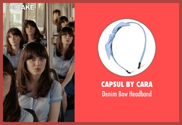 Capsul by Cara headband from (500) Days of Summer seen with Zooey Deschanel (Summer)