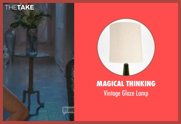 Magical Thinking lamp from (500) Days of Summer seen with Zooey Deschanel (Summer)
