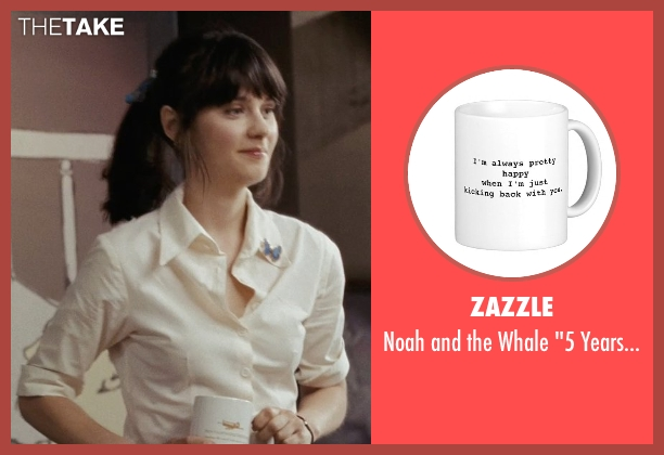 Zazzle mug from (500) Days of Summer seen with Zooey Deschanel (Summer)