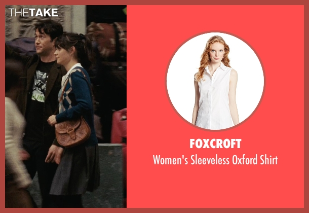 Foxcroft white shirt from (500) Days of Summer seen with Zooey Deschanel (Summer)