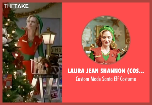 Laura Jean Shannon (Costume Designer) costume from Elf seen with Zooey Deschanel (Jovie)