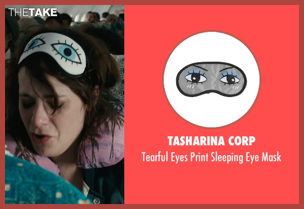 Tasharina Corp mask from Rock The Kasbah seen with Zooey Deschanel (Unknown Character)
