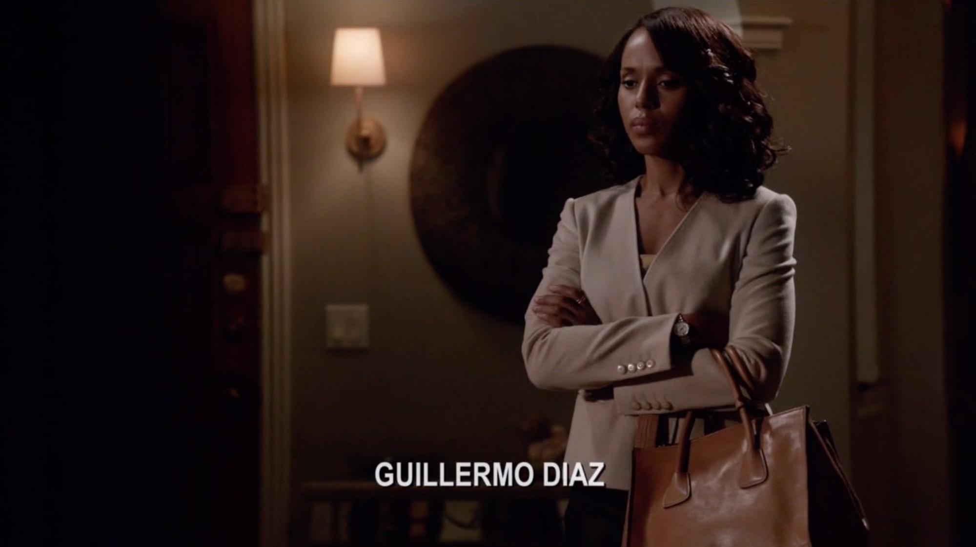 Olivia Pope\u0026#39;s Brown Prada Glace Calf Twin Pocket Tote Bag from ...