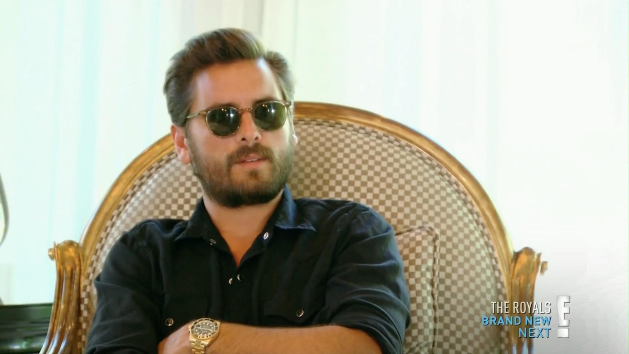 Scott Disick Sunglasses  scott disick s beige garrett leight wellesley sunglasses from