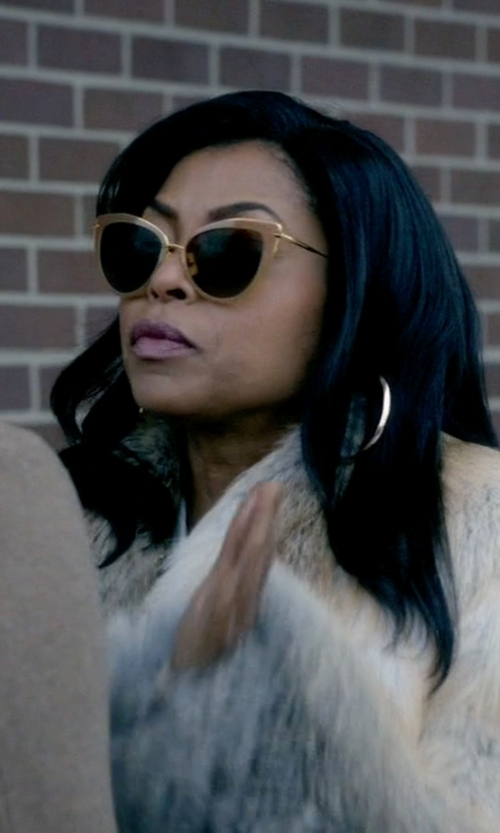 Taraji P. Henson with Dita Eyewear Heartbreaker Sunglasses in Empire