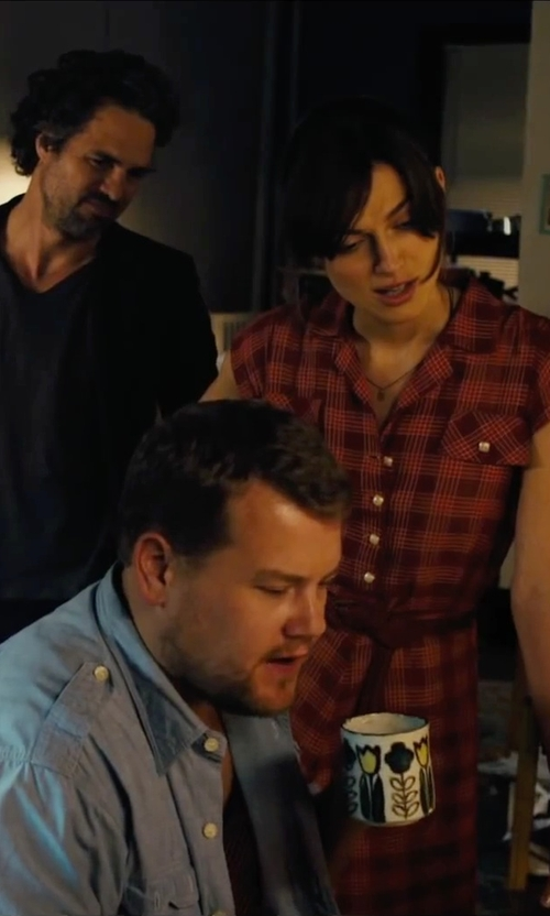 James Corden with Bed Bath & Beyond Relief Coffee Mugs in Begin Again