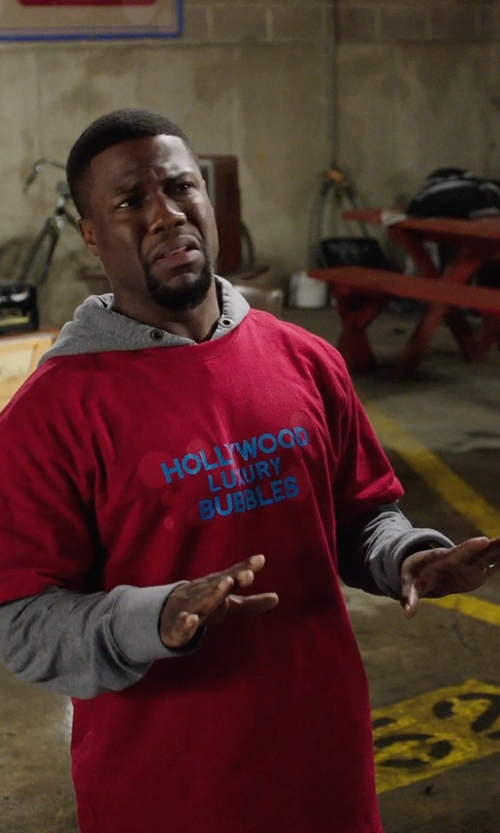 Kevin Hart with Fastasticdeal I'd Rather Be in West Hollywood T-Shirt in Get Hard