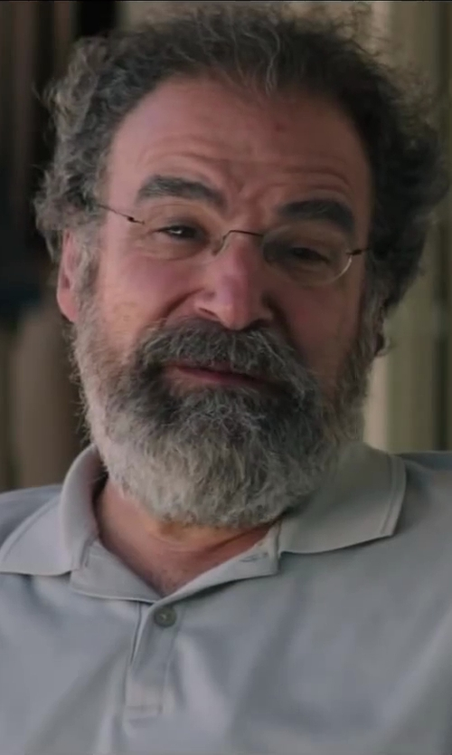 Mandy Patinkin with Quiksilver Water Polo Regular Fit Knit Polo in Wish I Was Here