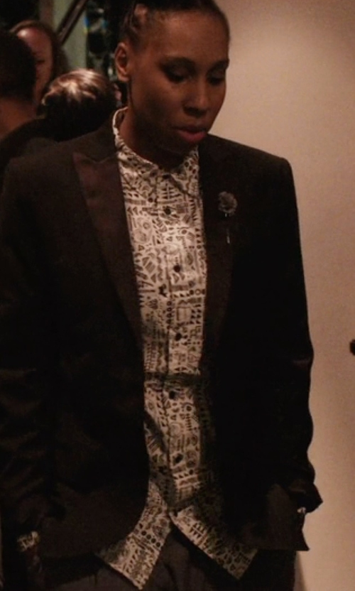 Lena Waithe with Bonobos Isle Sport Shirt in Master of None