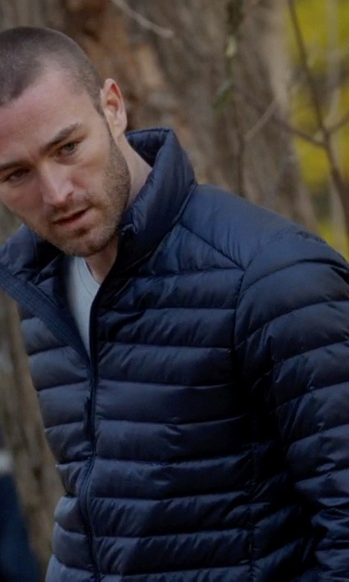 Jake McLaughlin with Buffalo David Bitton Quilted Jacket in Quantico