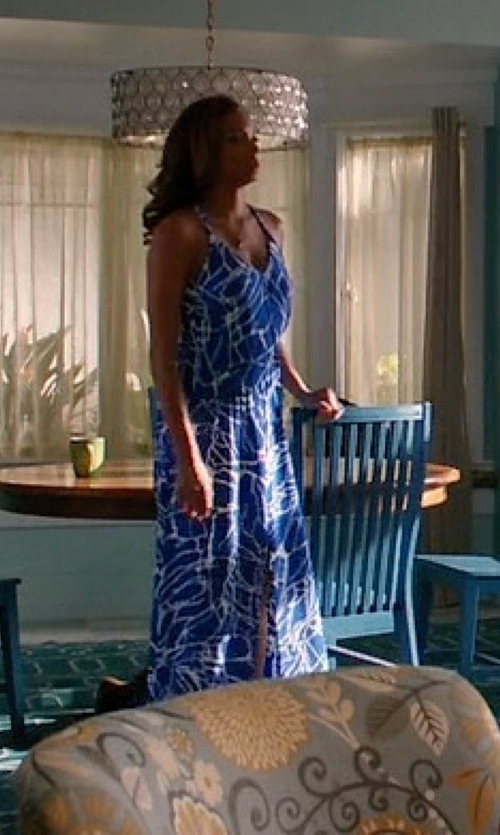 Rochelle Aytes with Parker Kisa Maxi Dress in Mistresses