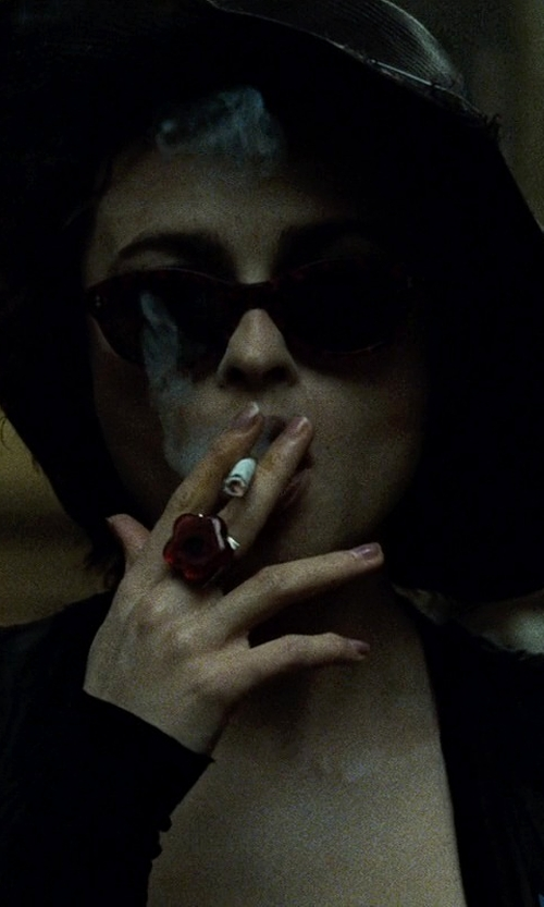 Helena Bonham Carter with Laura Turn Up Cuff Boyfriend Blazer in Fight Club