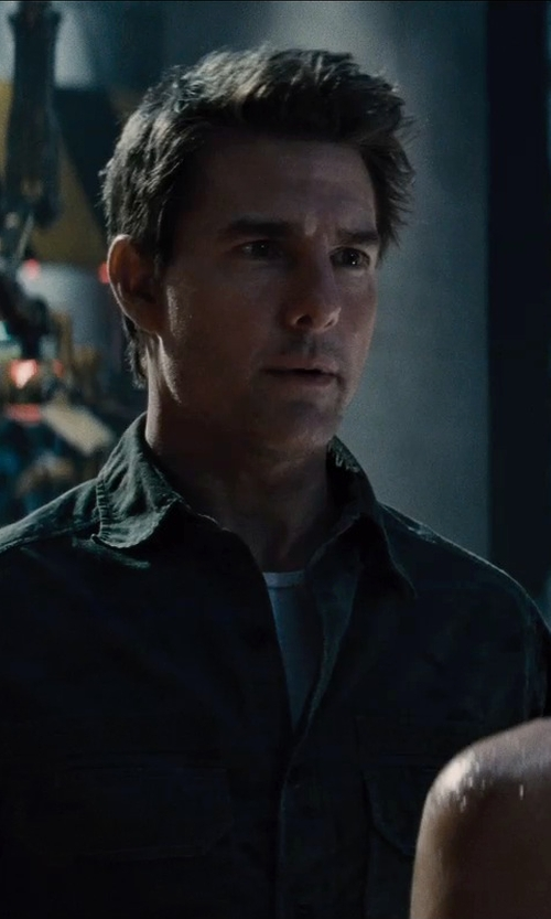 Tom Cruise with 5.11 TacLite Professional Long Sleeve Shirt in Edge of Tomorrow