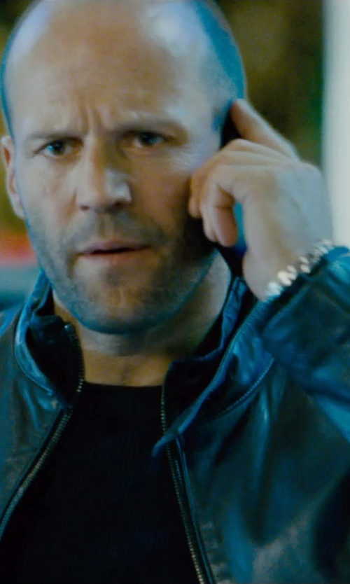 Jason Statham with T By Alexander Wang Long Sleeve T-Shirt in Furious 7