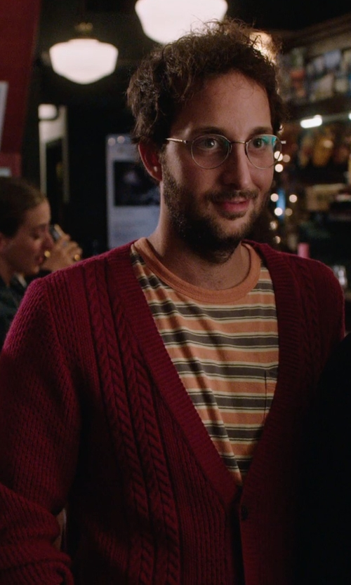 Unknown Actor with Ben Sherman Cable Cardigan Sweater in The Intern