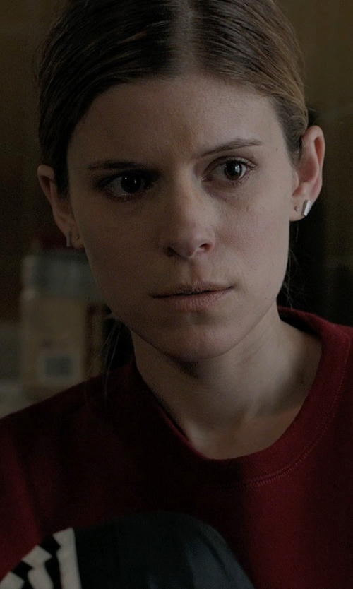 Kate Mara with Boma Tiny Ball Stud Earrings in Captive