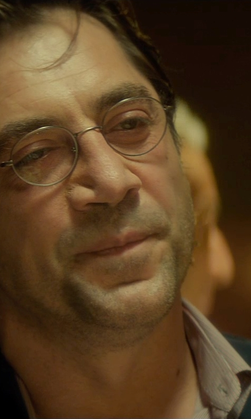 Javier Bardem with Neil Barrett Wool Blazer in The Gunman