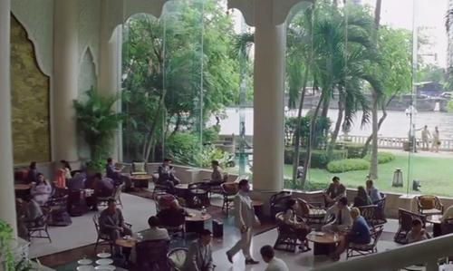 Matthew McConaughey with Shangri-La Hotel Bangkok, Thailand in Gold