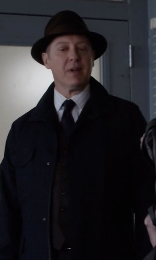 James Spader with Sartoria Latorre Suit Vest in The Blacklist