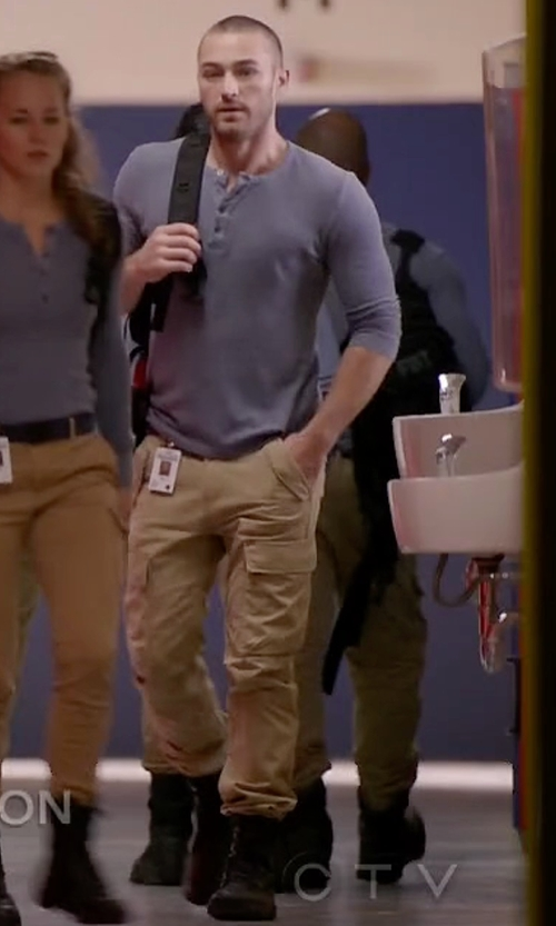 Jake McLaughlin with Steve Madden Men's Dino Combat Boots in Quantico