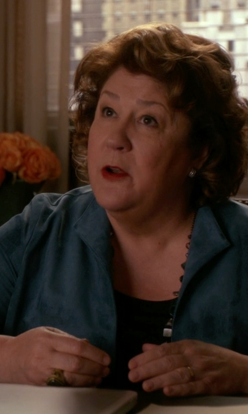 Margo Martindale with Prada Single Breasted Blazer in The Good Wife