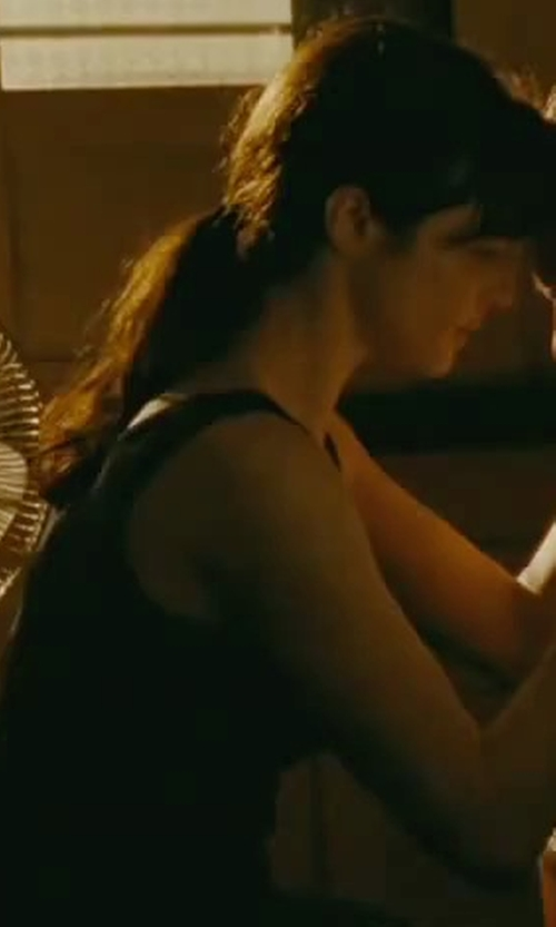 Rachel Weisz with Eileen Fisher Stretch Jersey Slim Tank Top in The Bourne Legacy