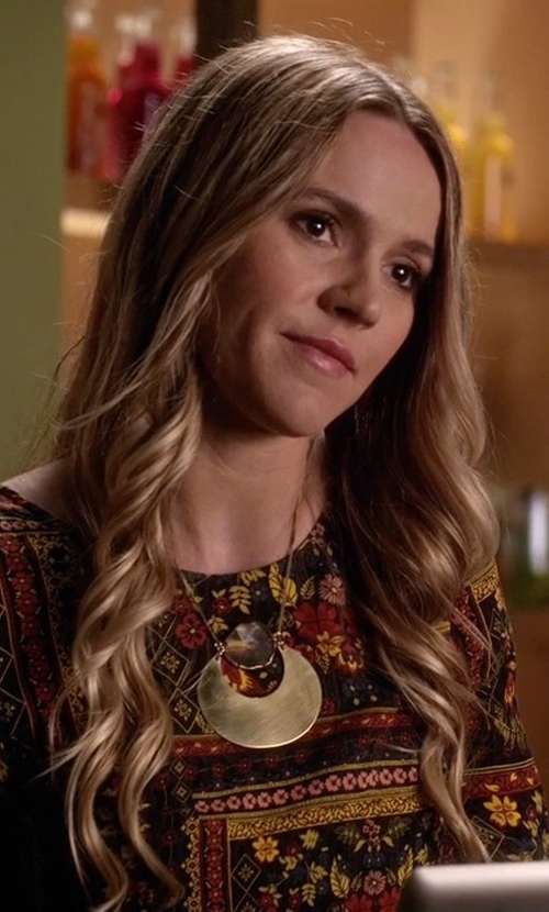Lulu Brud with Wild Air & Co.  Bellatrix Necklace in Pretty Little Liars