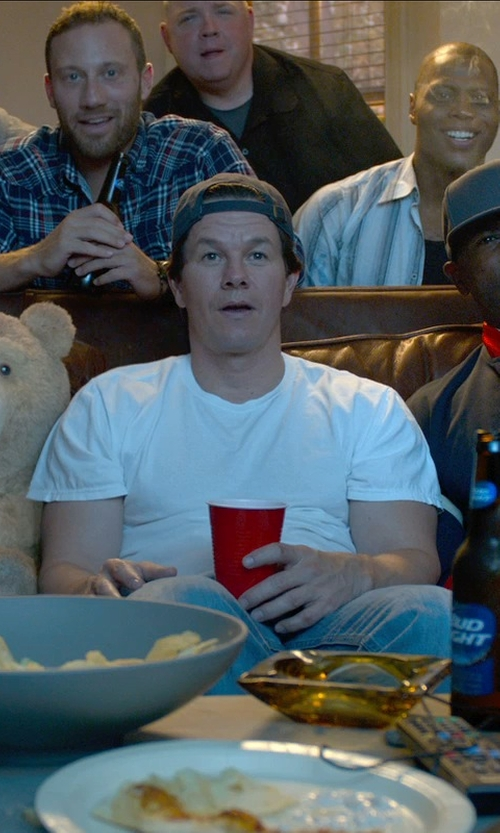 Mark Wahlberg with T by Alexander Wang Classic T-Shirt in Ted 2