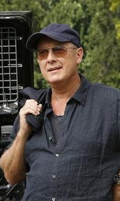 James Spader with Goorin Brothers 'Slayer' Baseball Cap in The Blacklist
