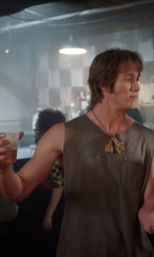 Blake Jenner with Dr. Denim Jeansmakers Sleeveless T-Shirt in Everybody Wants Some