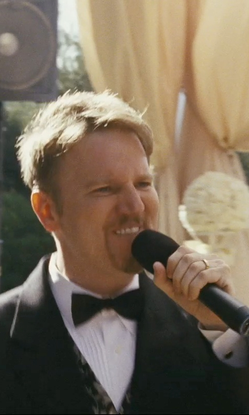 Dan Finnerty with Hackett Silk Bow Tie in The Hangover