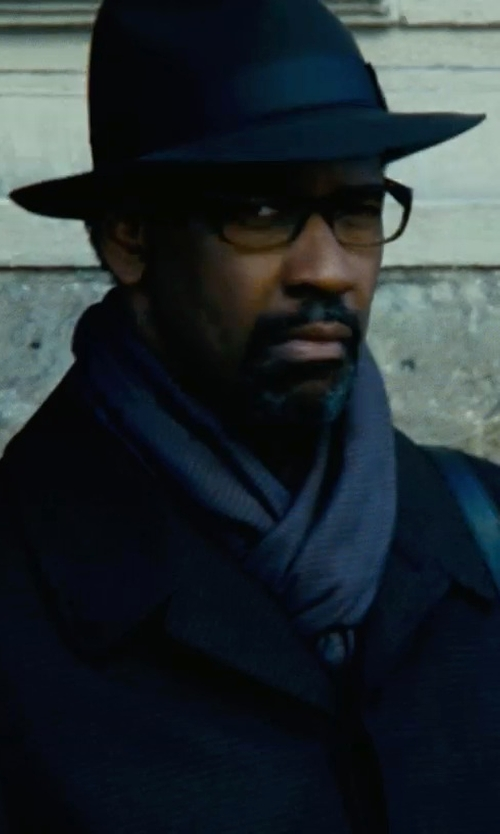 Denzel Washington with Ray-Ban RB5228 Eyeglasses in Safe House