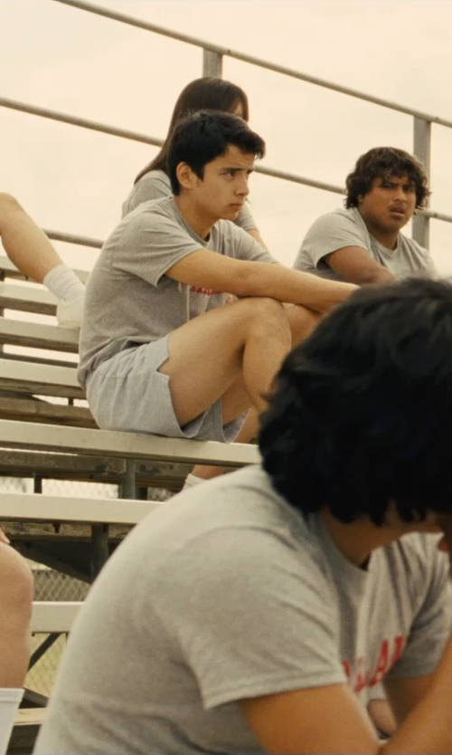 Unknown Actor with Asics Men's Interval Split Shorts in McFarland, USA