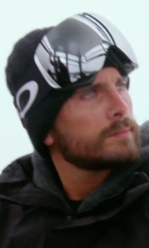 Scott Disick with Oakley Flight Deck Chrome Lens Ski Goggles in Keeping Up With The Kardashians