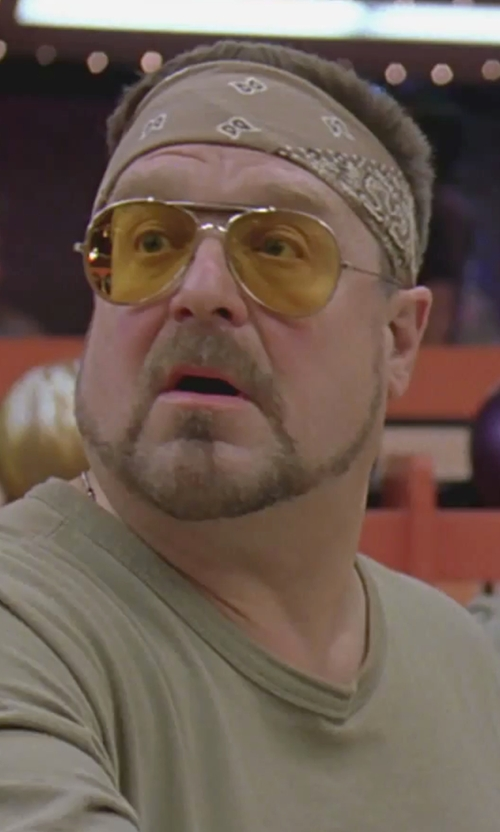 John Goodman with Ray-Ban Original Aviator Sunglasses in The Big Lebowski