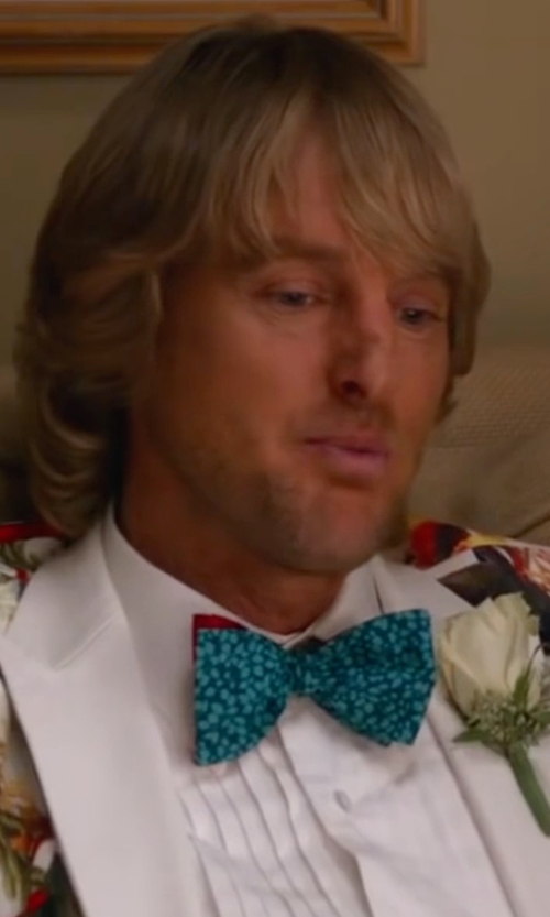 Owen Wilson with Tommy Hilfiger Fish Print To-Tie Bow Tie in Bastards